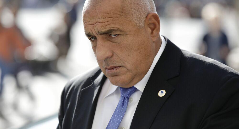 Il primo ministro bulgaro Borisov