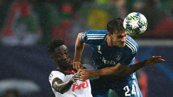 Rugani impegnato nel match Lokomotiv - Juventus - Sputnik Italia