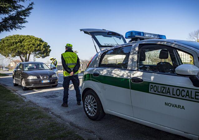 Polizia locale a Novara