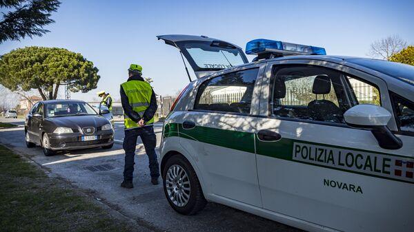 Polizia locale a Novara - Sputnik Italia