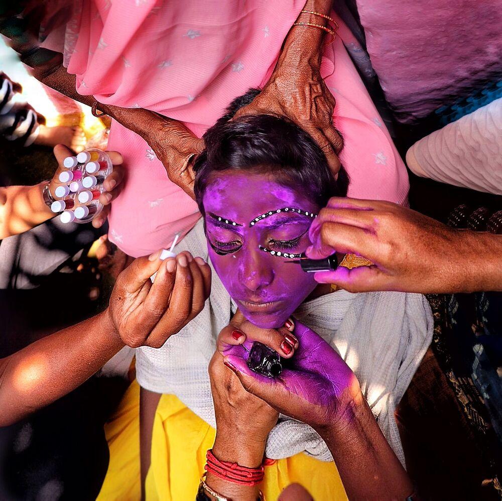 Lo scatto Green room frames del fotografo indiano Ram Kaushalyan.