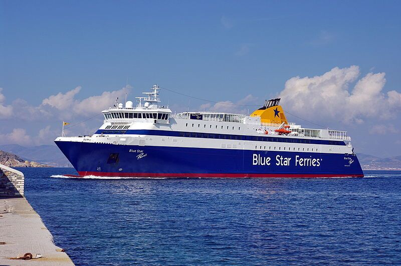 Traghetto della Blue Star Ferries