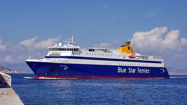 Traghetto della Blue Star Ferries - Sputnik Italia