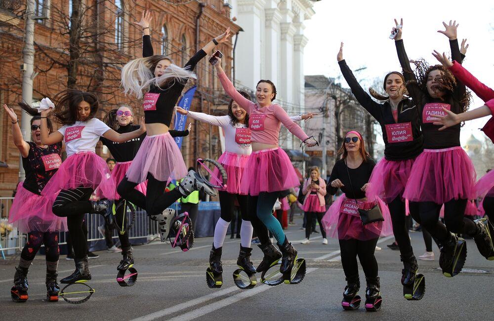 La corsa Beauty Run a Krasnodar.