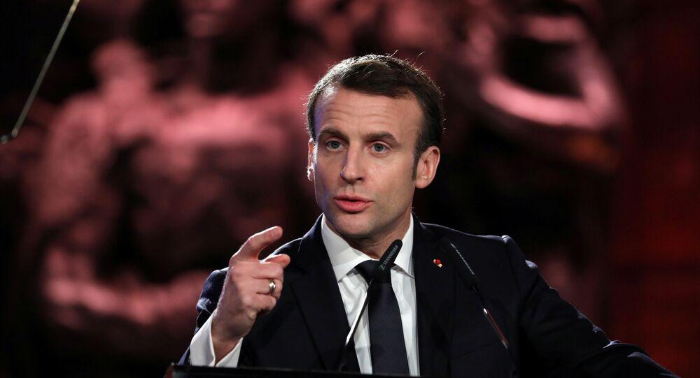 Presidente della Francia, Emmanuel Macron