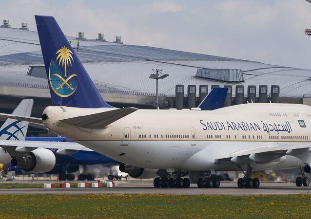Aereo compagnia Arabia Saudita