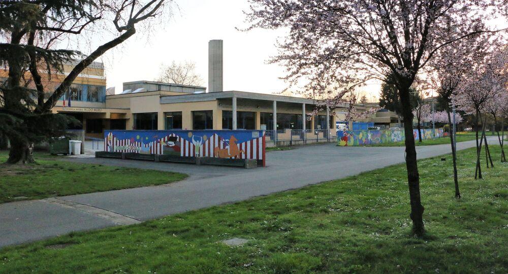 Una scuola chiusa