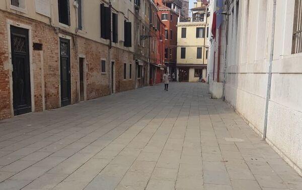 Vicoli di Venezia senza turisti - Sputnik Italia