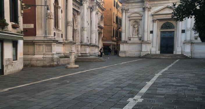 Campo San Rocco a Venezia