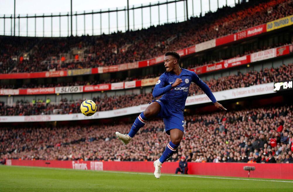 Callum Hudson-Odoi, calciatore inglese di origini ghanesi, attaccante o ala del Chelsea e della nazionale inglese