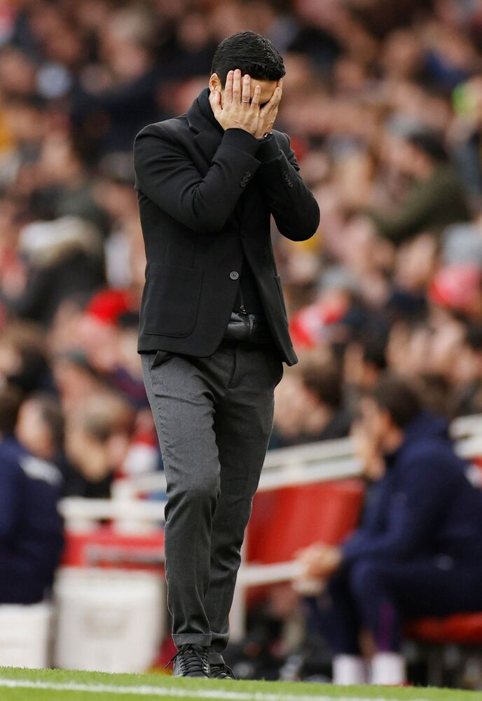 Mikel Arteta Amatriain, allenatore di calcio di Arsenal ed ex calciatore spagnolo
