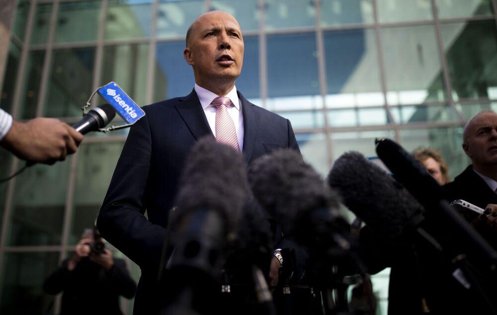 Peter Craig Dutton, ministro degli Affari Interni dell'Australia