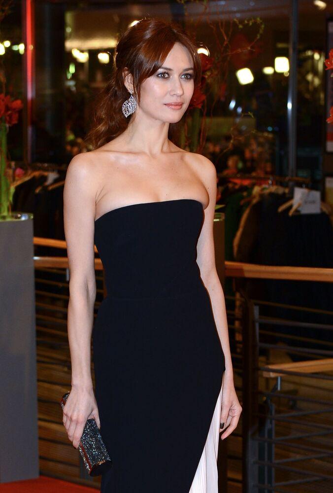 Olga Kurylenko, attrice di origini ucraine, ora cittadina anche francese, famosa al grande pubblico per il suo ruolo di 'Bond girl' nel film 'Quantum of Solace'.
