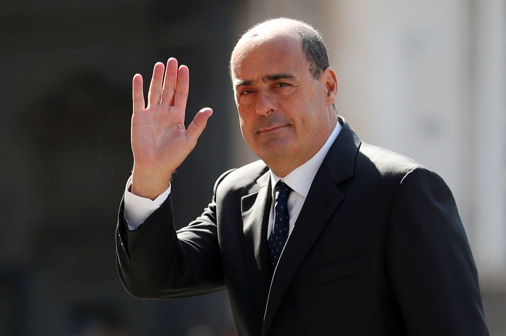 Nicola Zingaretti, segretario del Partito Democratico dell'Italia