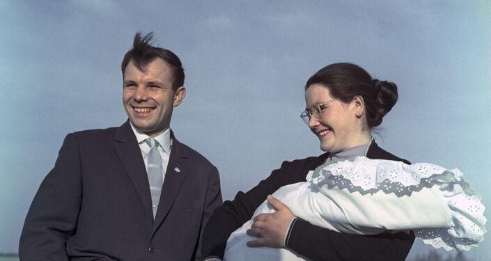 Valentina Gagarina, moglie del cosmonauta, aviatore e politico sovietico Yuri Gagarin