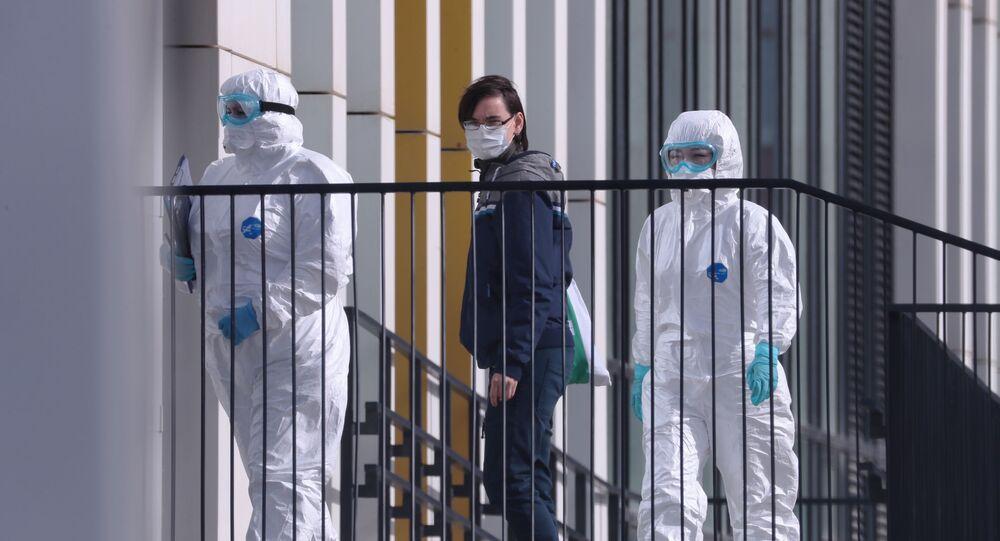 I medici hanno ricoverato un paziente che potrebbe essere positivo al coronavirus a Mosca