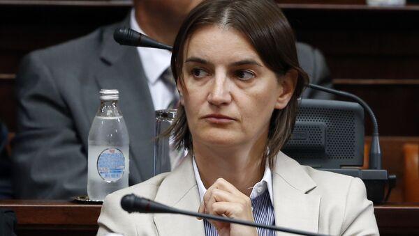 Ana Brnabic attends a parliament session in Belgrade, Serbia (File) - Sputnik Italia