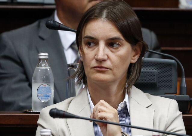 Premier serba Ana Brnabic