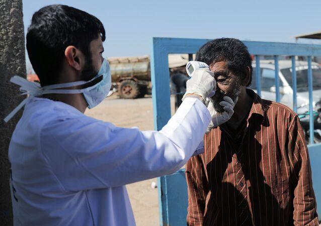 Controllo della temperatura in Siria