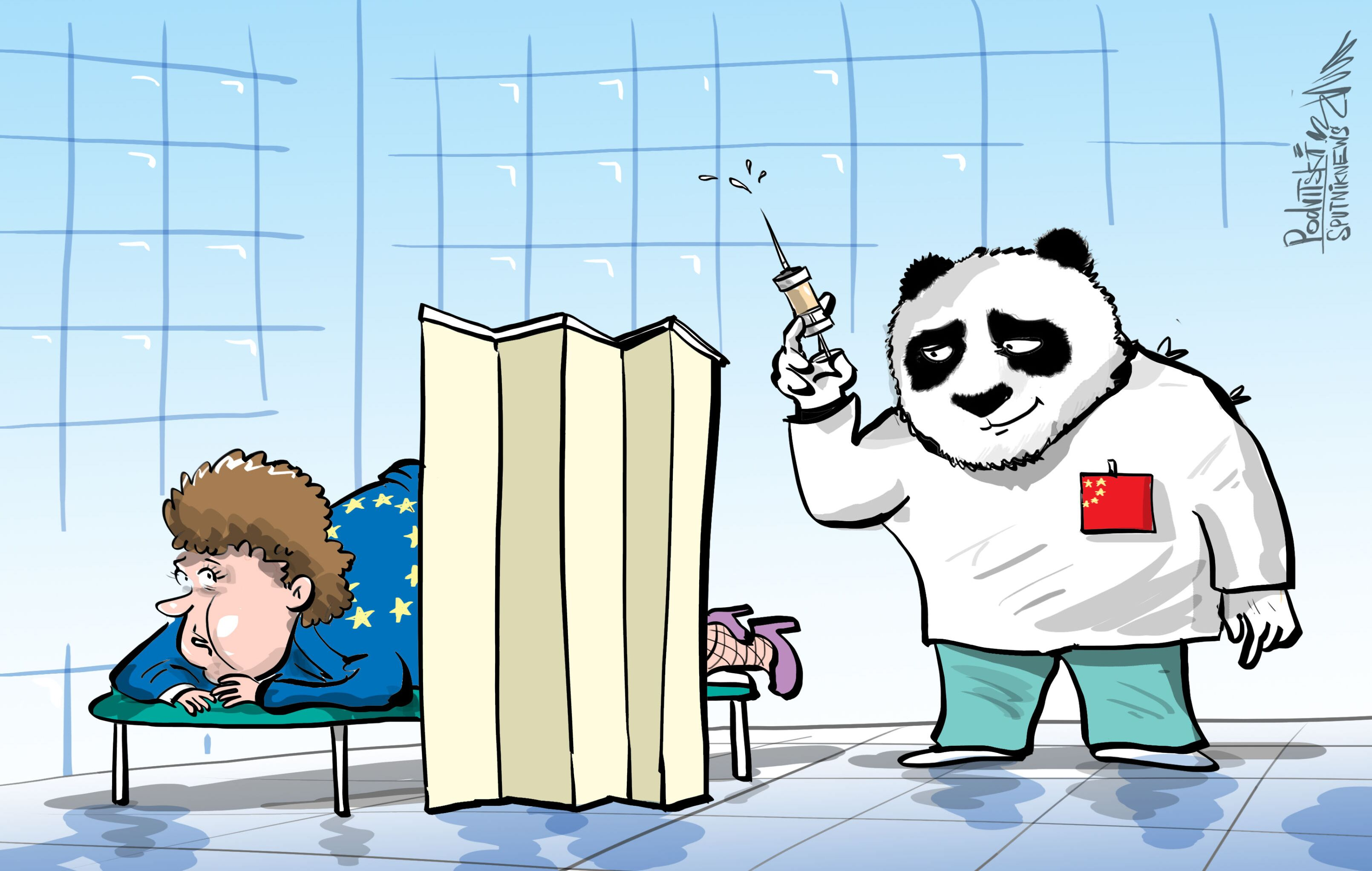 Coronavirus, Cina e UE