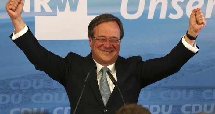 Ministerpräsident des Landes Nordrhein-Westfalen Armin Laschet (Archivbild)