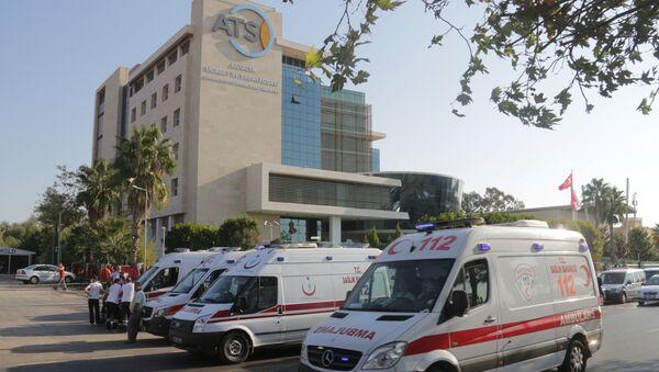Ambulanze in Turchia - Sputnik Italia