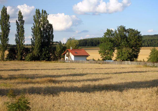 Un villaggio in Repubblica Ceca