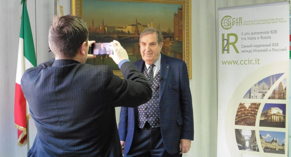 Rosario Alessandrello intervistato nel suo ufficio di Mosca