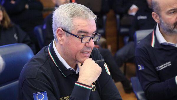 Il capo dipartimento della Protezione Civile Angelo Borrelli - Sputnik Italia