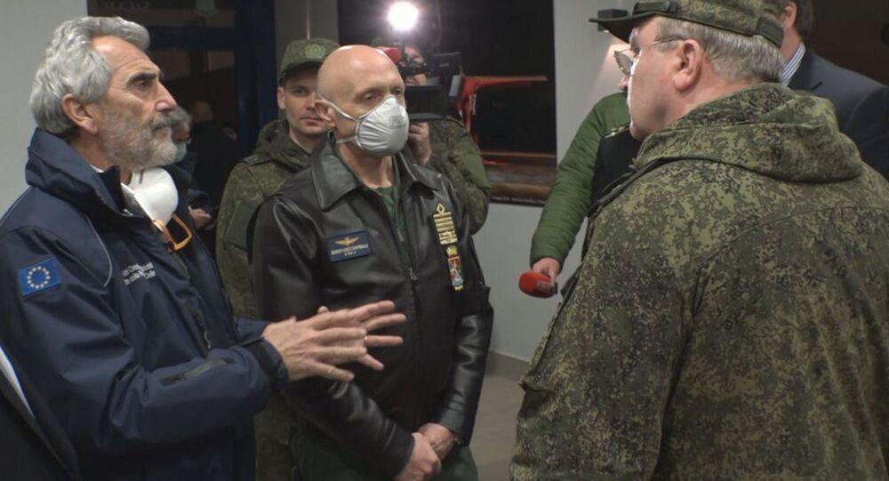 Il capo dello Stato Maggiore generale delle Forze armate italiane ha ringraziato la Russia per l'aiuto nella lotta contro il coronavirus