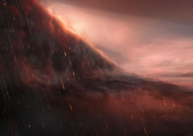 Il pianeta su cui piove ferro