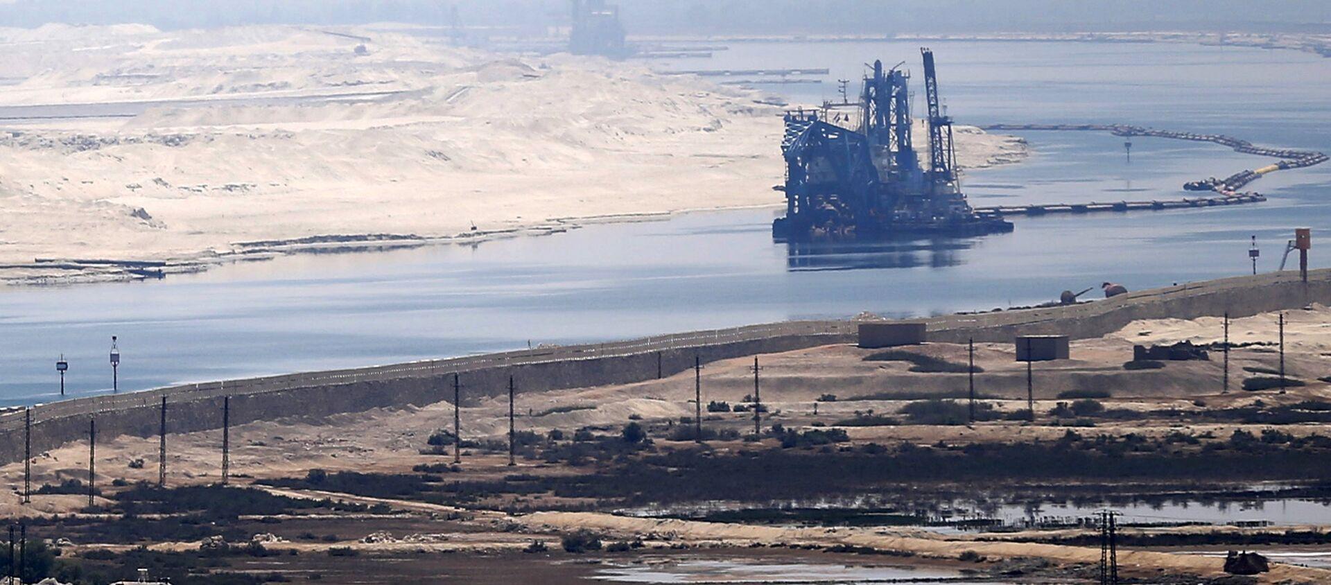 Una vista del Canale di Suez - Sputnik Italia, 1920, 15.05.2021