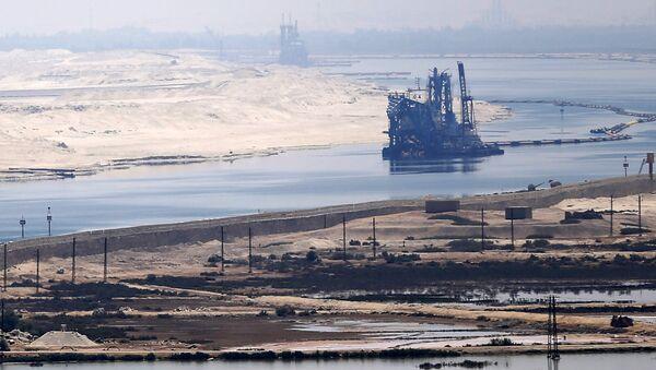 Una vista del Canale di Suez - Sputnik Italia