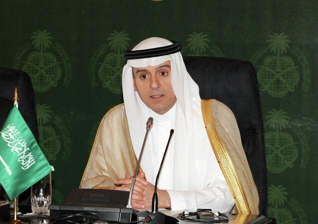 Ministro degli Esteri arabo Adel al-Jubeir (foto d'archivio)