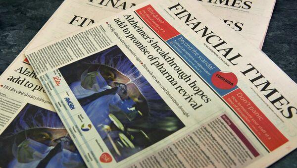 Financial Times - Sputnik Italia