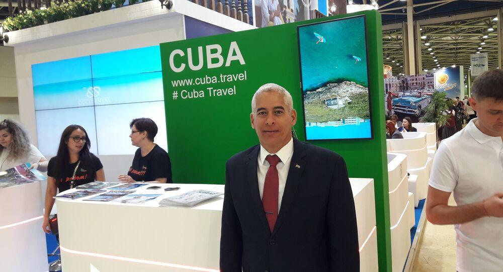 Ambasciatore di Cuba in Russia Gerardo Peñalver Portal (foto d'archivio)