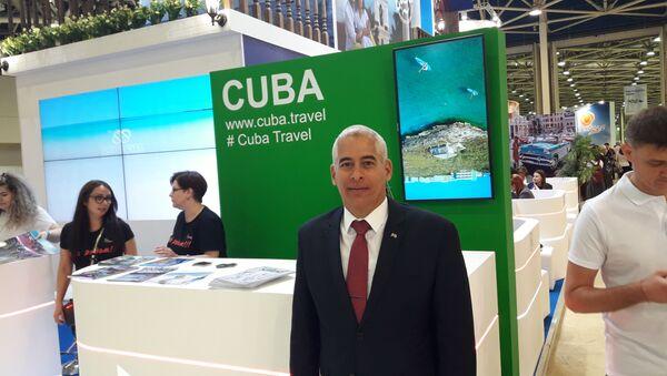 El embajador de Cuba en Rusia, Gerardo Peñalver Portal - Sputnik Italia