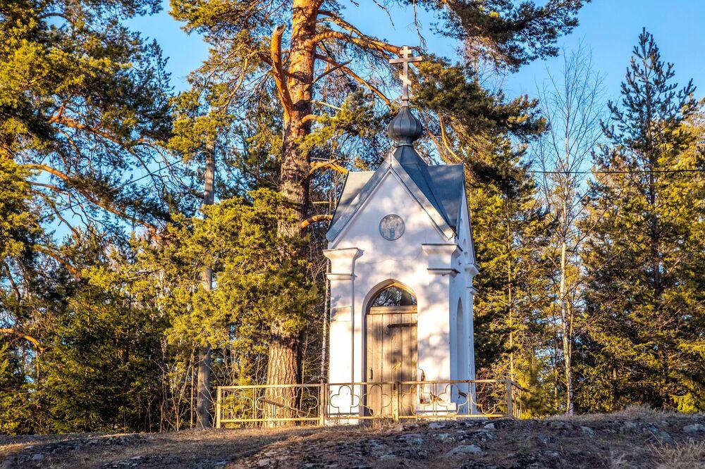 Cappella di San Nicola nella Repubblica di Carelia, Russia