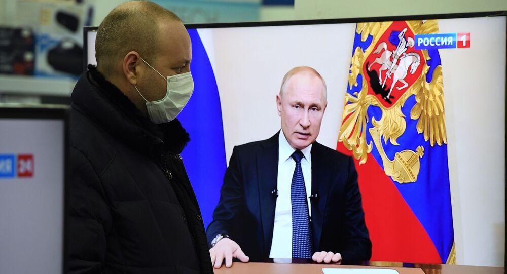 Discorso di Vladimir Putin alla nazione per emergenza coronavirus