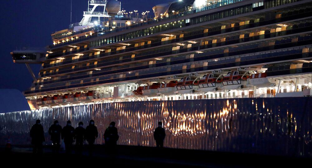 La nave da crociera Diamond Princess