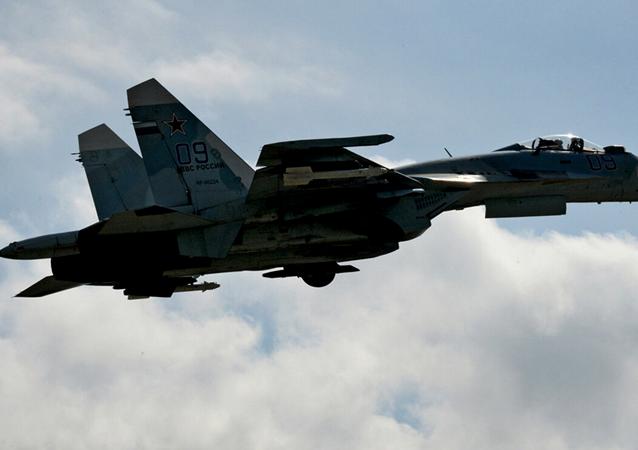 Aereo militare russo Su-27