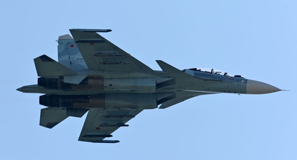 Caccia Su-27 (foto d'archivio)
