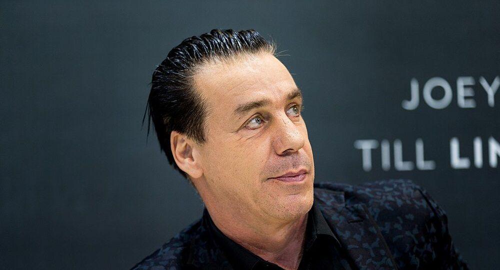 Till Lindermann, cantante dei Rammstein