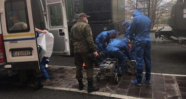 Operazione Dalla Russia con amore, intervento dei militari russi a Gandino - BG
