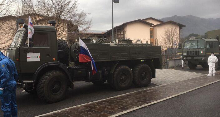 Operazione Dalla Russia con amore, intervento dei militari russi in Val Seriana - BG