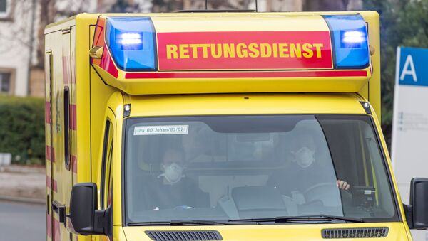 Ambulanza germania - Sputnik Italia
