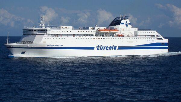 La nave Raffaele Rubattino di Tirrenia - Sputnik Italia