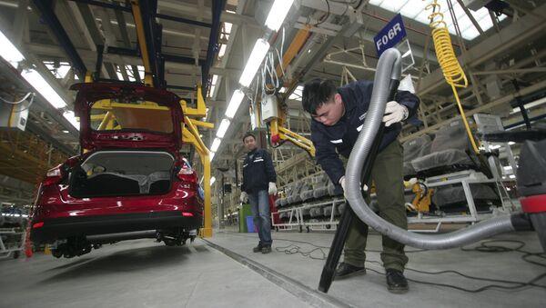 Fabbrica di automobili Changan in Cina - Sputnik Italia