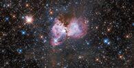 Una parte della gigantesca Nebulosa Tarantola
