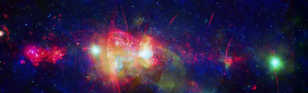 L'area centrale della nostra galassia - la Via Lattea